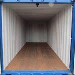 SelfStorage Stapper – Container-Lagerräume – Duisburg – 14 m² Abteil - Innenansicht, Self-Storage, Self Storage, Lagerraumvermietung